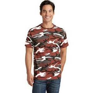 Port & Company® Men's Core Cotton Camo T-Shirt