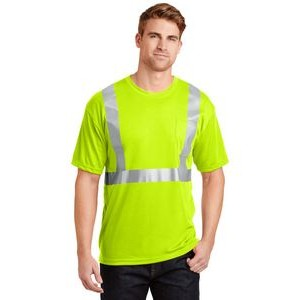 Cornerstone® ANSI 107 Class 2 Safety T-Shirt