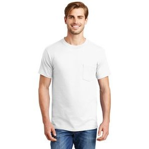Hanes® Beefy-T® 100% Cotton T-Shirt w/Pocket
