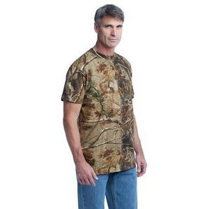Russell Outdoors™ Men's RealTree® Explorer 100% Cotton T-Shirt w/Pocket