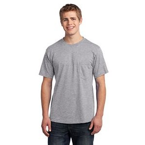 Port & Company® All-American Short Sleeve 100% Cotton Tee Shirt w/ Pocket