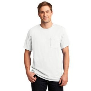 Jerzees® Dri-Power® Active 50/50 Cotton/Poly Pocket T-Shirt