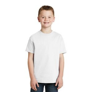 Hanes® Youth Tagless® 100% Cotton T-Shirt