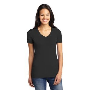 Port Authority® Ladies' Concept Stretch V-Neck Tee Shirt