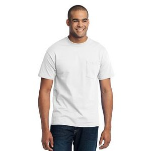 Port & Company® Men's Core Blend Pocket T-Shirt