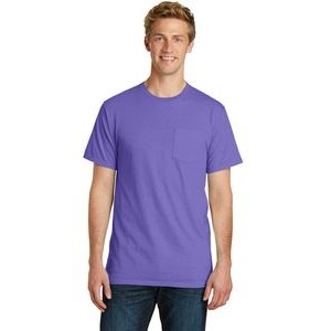 Port & Company® Essential Pigment-Dyed Short Sleeve Pocket Tee Shirt