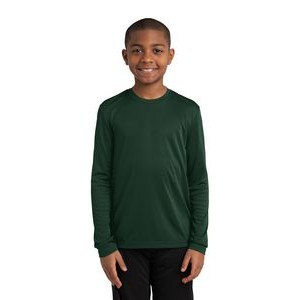 Youth Sport-Tek® Long Sleeve PosiCharge® Competitor™ Tee Shirt