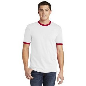 American Apparel® Fine Jersey Ringer T-Shirt