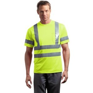 Cornerstone® ANSI 107 Class 3 Short Sleeve Snag-Resistant Reflective T-Shirt