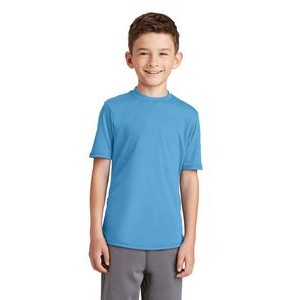 Port & Company® Youth Performance Blended Tee Shirt