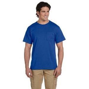 Medium Weight Color T-Shirt w/Pocket