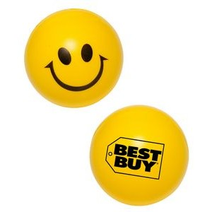 Happy Face Smiley Stress Ball Reliever