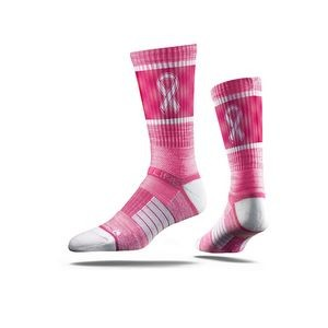 Breast Cancer Awareness Sock
