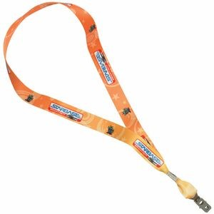 "3/4"" Heavy Weight Satin Lanyard"