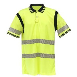 Tactical Two Tone Short Sleeve Hi Vis Polo, Class 2