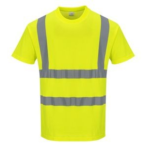 High Visibility Cotton Comfort Short Sleeved T-Shirt