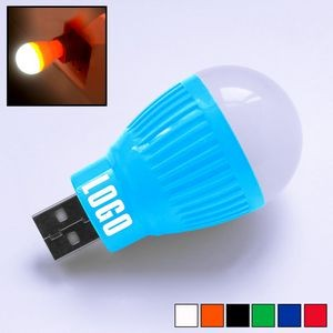 Bulb Shaped Light with USB Drive