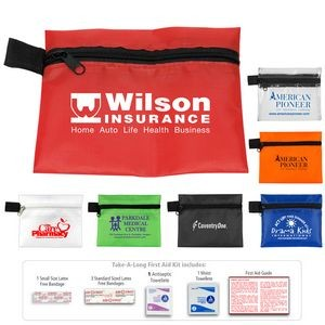 """Tag-A-Long"" 7 Piece First Aid Kit"