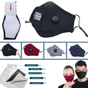Breathable Vent Mask With Filter