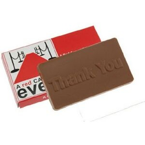 Chocolate Bar in Sleeve