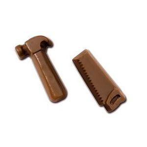 Molded Chocolate Hammer & Saw