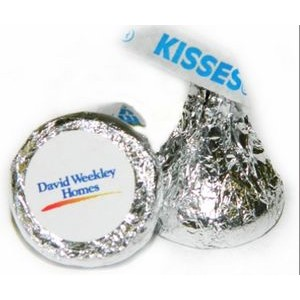 Hershey Kiss with Label