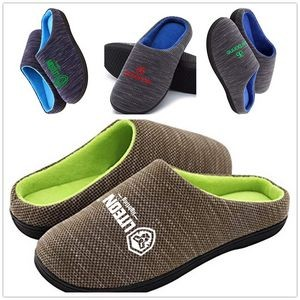Winter Indoor Memory Foam Cotton Slippers
