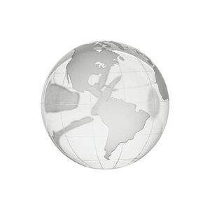 Glass Globe Paperweight Trophy