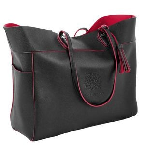 Duet Large Carryall Bag w/Magnetic Snap Closure