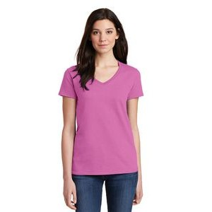 Gildan® Heavy Cotton™ Ladies V-Neck T-Shirt