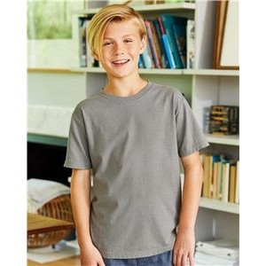 ComfortWash by Hanes Garment Dyed Youth Short Sleeve T-Shirt