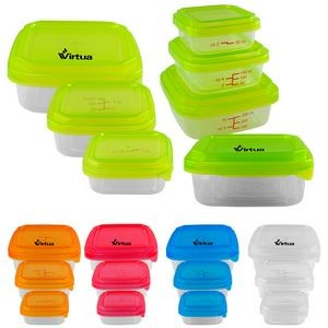 Square Portion Control Containers