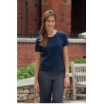 Ladies Jonathan Corey Short Sleeve Crew Neck Tee Shirt