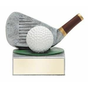 Color Tek Golf Figure Award - 4""