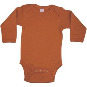 Orange Long Sleeve Onezie
