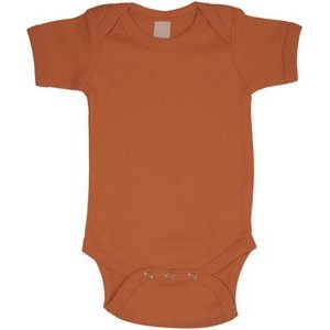 Orange Short Sleeve Onezie