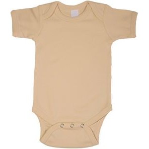 Tan Short Sleeve Onezie