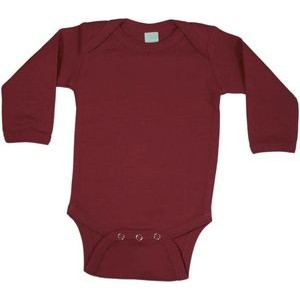 Maroon Long Sleeve Onezie