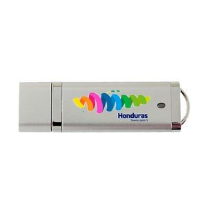 Rectangle USB Drive w/ Removable Cap (4GB)