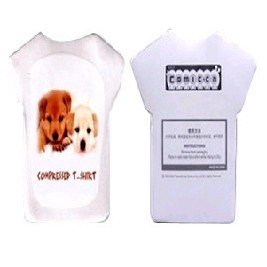 Compressed Towel Cloth T-Shirt / Short Sleeve